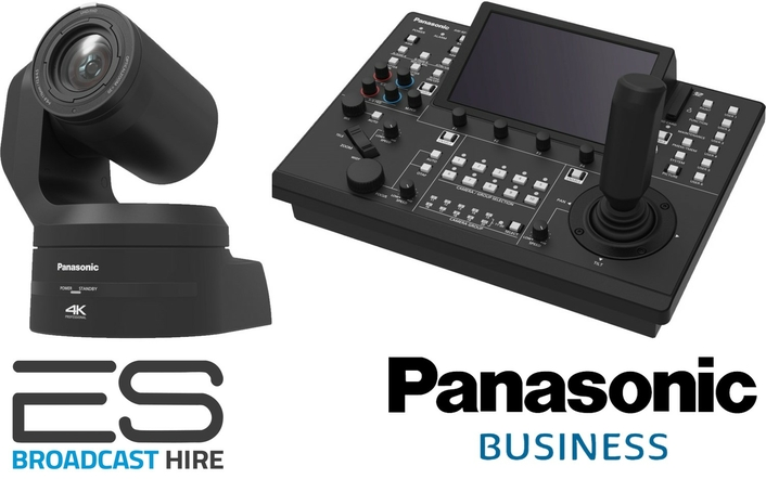 ES BROADCAST ADDS PANASONIC PTZ CAMERAS TO HIRE FLEET