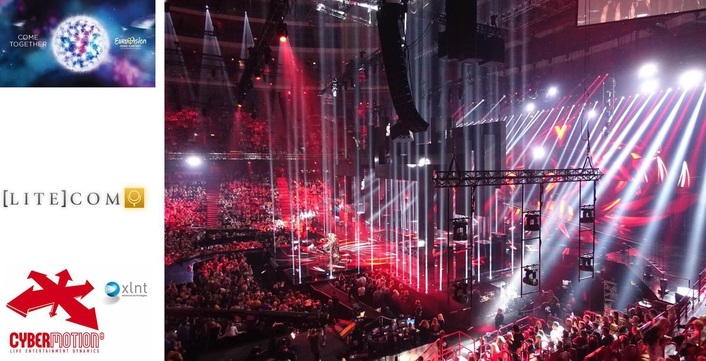XLNT CyberMotion's CyberHoist II system delivers crucial automation on Eurovision 2016