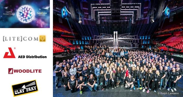 Clay Paky dazzles millions on Eurovision 2016