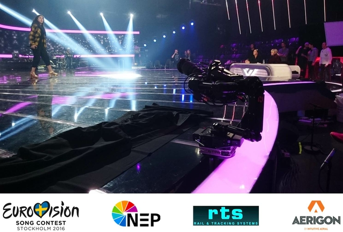 NEWTON Stabilized Camera Heads Selected for Broadcast of Eurovision Song Contest 2016