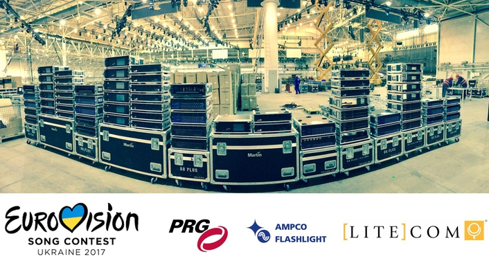 Litecom provides lighting & rigging infrastructure for Eurovision 2017