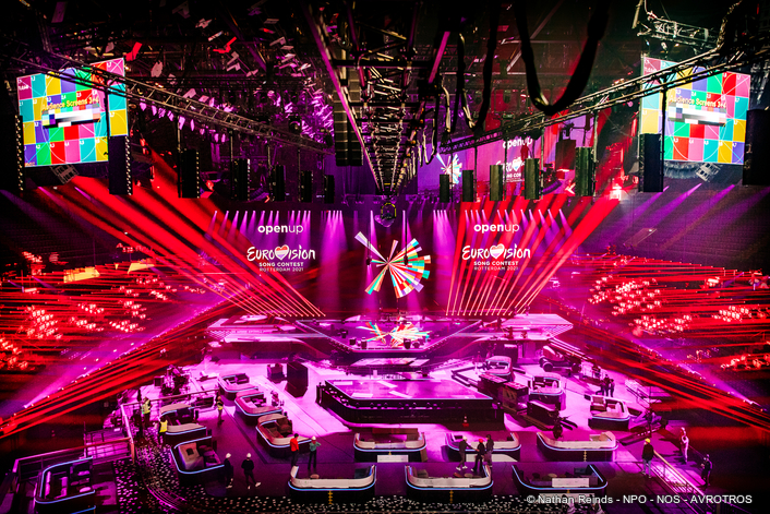 It's time for the Eurovision Song Contest 2021 in Rotterdam