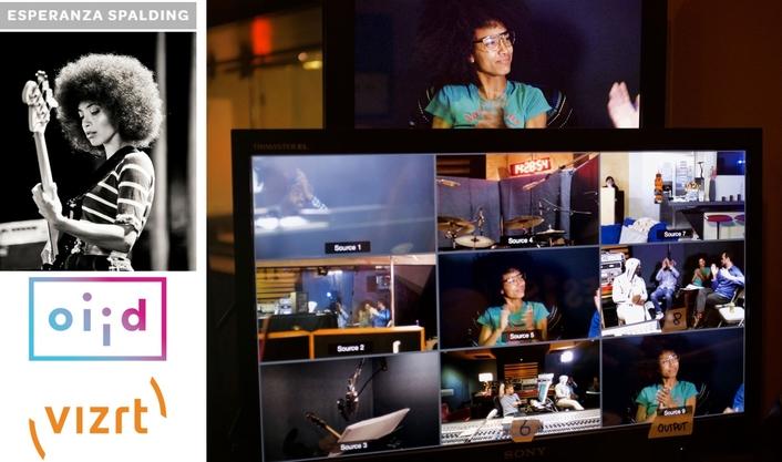 Esperanza Spalding Facebook Live event