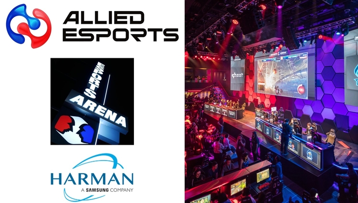 HARMAN Professional Solutions Helps Allied Esports Set A New Standard in Professional Gaming with Esports Arena Las Vegas