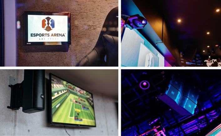 Allied Esports deploys a wide range of JBL Professional, Crown, BSS, AMX and Martin solutions to deliver an immersive gaming experience at its flagship arena