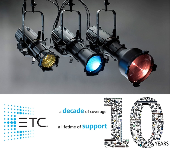 ETC Fixture Ratings and Warranties Extended