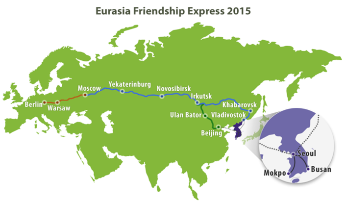 Global Rental Program Provides TVUPacks to South Korea's Leading 24-Hour News Network for Eurasia Friendship Express Railway Project