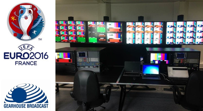UEFA delivers TOCs at all ten EURO 2016 venues using Gearhouse Broadcast