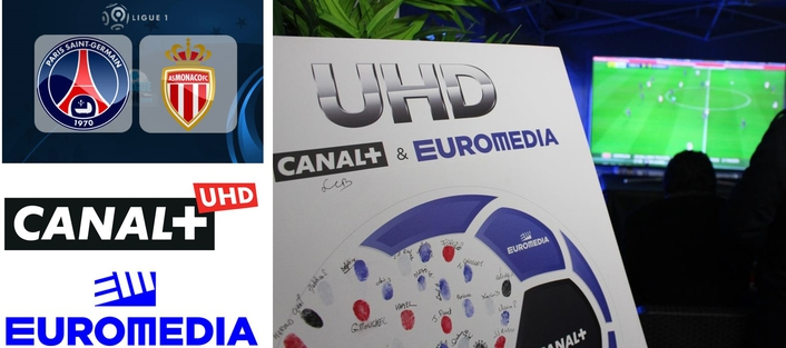 EUROMEDIA launches Ultra HD project for CANAL+