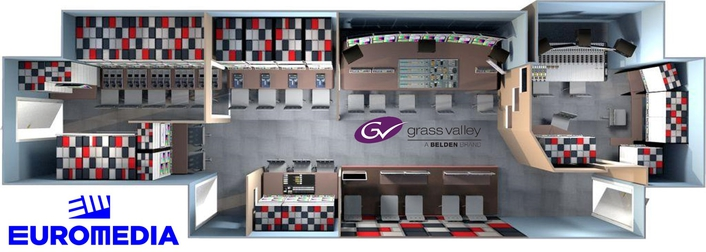 Grass Valley Races Ahead with EUROMEDIA