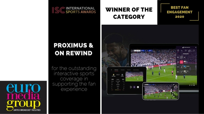 On Rewind wins Fan Engagement Award at the International Sport Convention