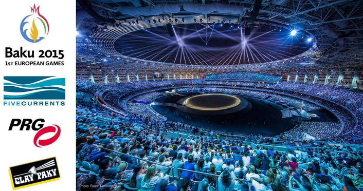 The newly built 225,000-square-meter stadium was embellished with 437 units of Clay Paky Sharpy Wash 330, 66 units of Sharpy and 174 units of Clay Paky Mythos