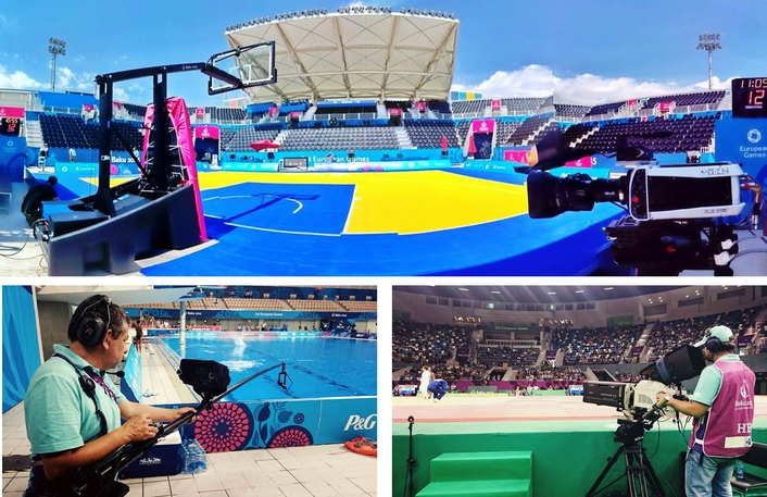 Host broadcaster ISB chose LMC to produce the Mountain Bike, Beach Volleyball and Beach Soccer venue.
