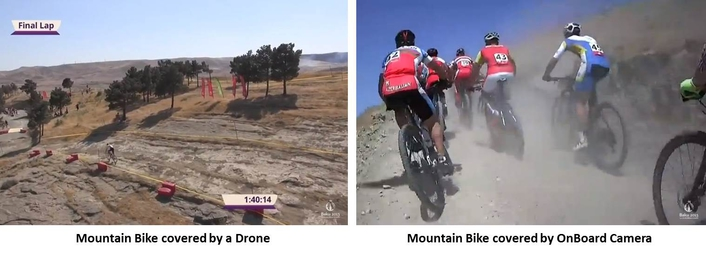 Host broadcaster ISB chose LMC to produce the Mountain Bike