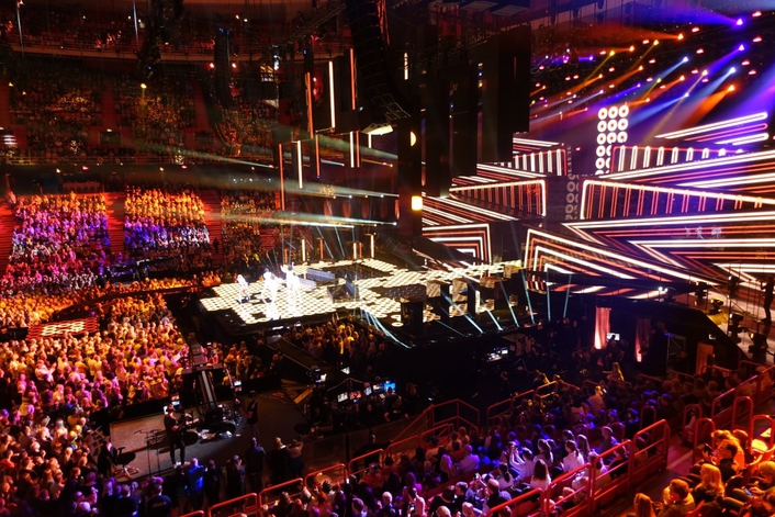 Philips Vari-Lite immerses the audience on Eurovision 2016