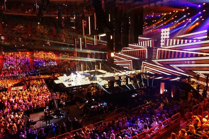 Philips Vari-Lite immerses the audience on Eurovision 2016