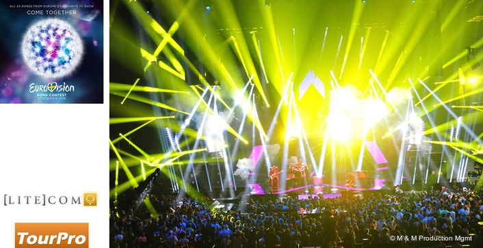 Aquabeam Dazzles on Eurovision Song Contest