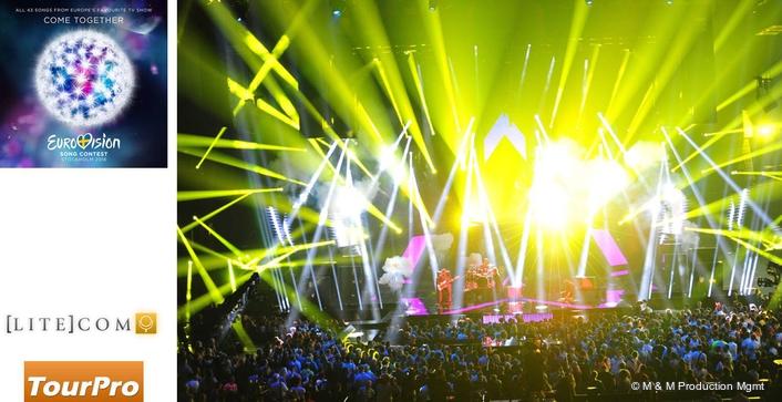 Aquabeam Dazzles on Eurovision Song Contest