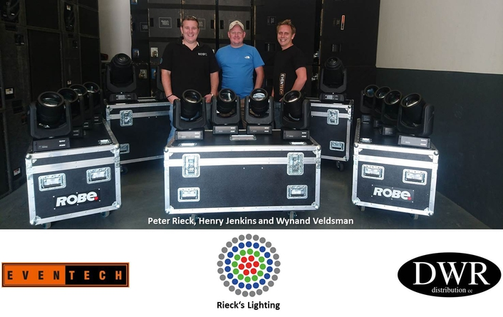 New Rental & Production company  chooses Robe Pointes & Spikies