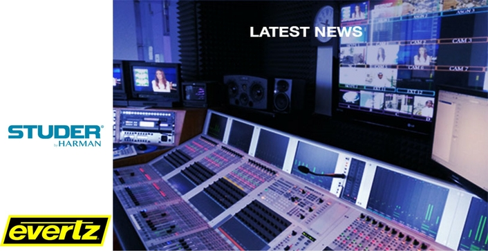 Evertz Announces Agreement to Acquire Studer's Strategic Assets from HARMAN International
