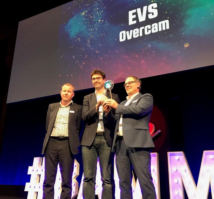 EVS' OVERCAM WINS IABM BAM AWARD AT IBC2019