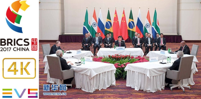 EVS technology enables 4K recording of BRICS China 2017
