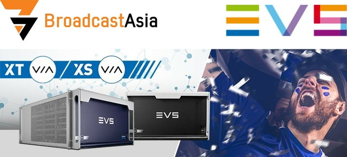 EVS' LIVE PRODUCTION INNOVATIONS ON SHOW AT BROADCAST ASIA