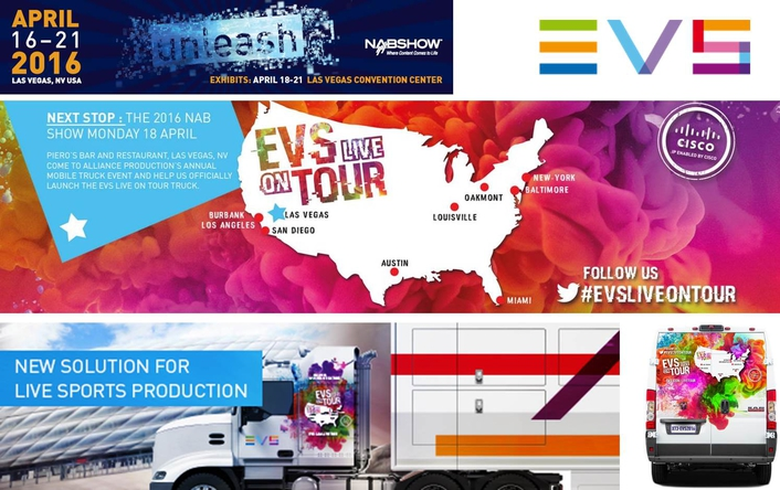 New EVS demo truck set to hit the road for its first US tour