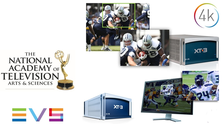 EVS Earns a Prestigious Emmy® Award for Its Epsio 4K Zooming Technology