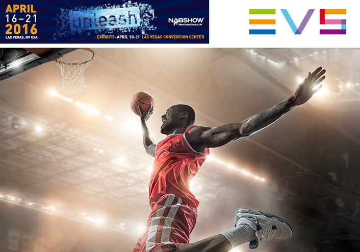 EVS and FIBA partner to layup the #EVSlamDunk Experience at 2016 NAB Show