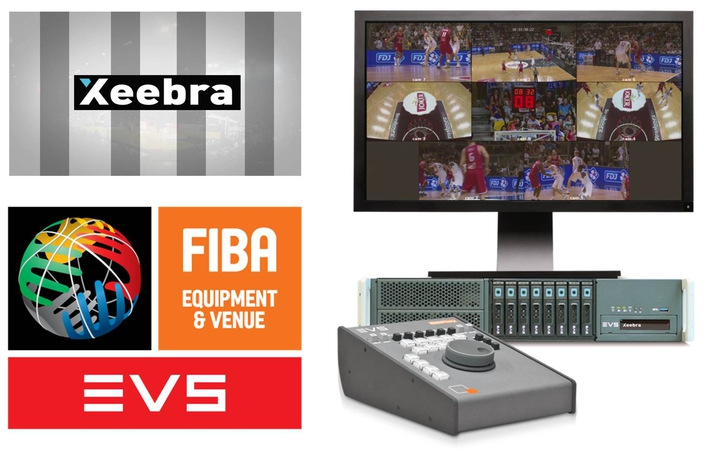 FIBA implement EVS' Xeebra video refereeing system at 2016 FIBA Olympic Qualifying Tournaments