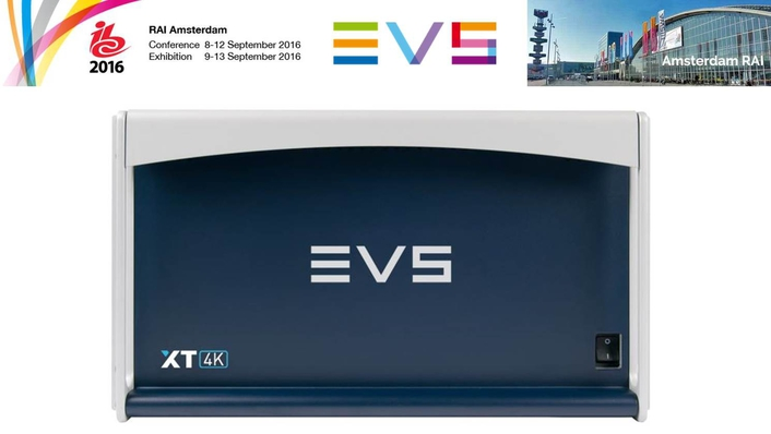 EVS drives UHD production with new XT4K and XS4K servers