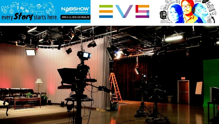 EVS LAUNCHES FAST AND RELIABLE INGEST-TO-POST SOLUTION FOR ENTERTAINMENT STUDIOS AT NAB 2019