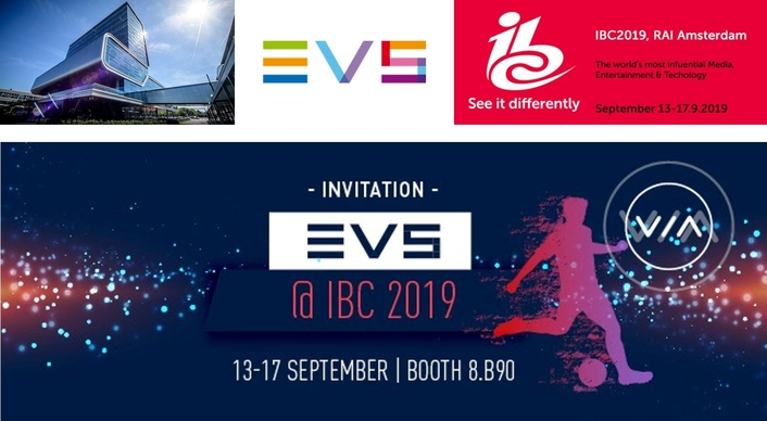 EVS AT IBC 2019 - OUR PROGRAM AT A GLANCE