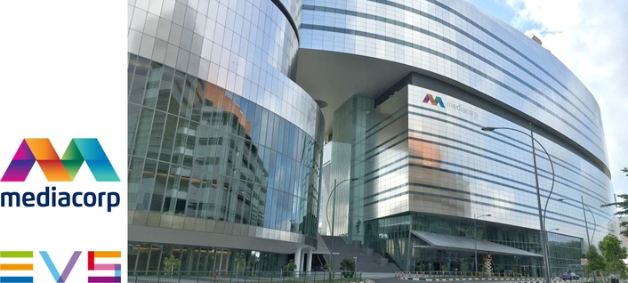Mediacorp powers up complete EVS broadcast center workflow
