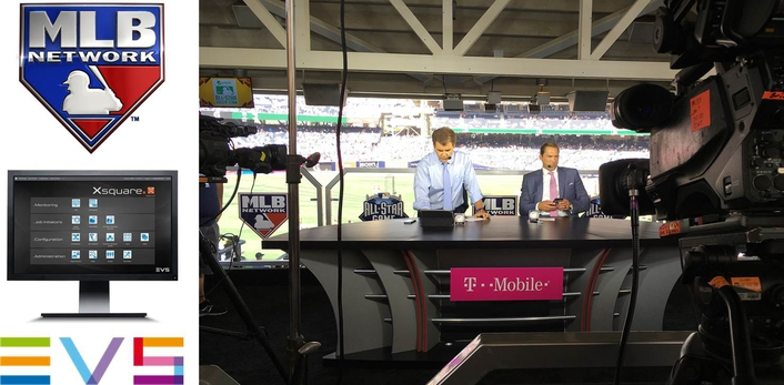 MLB Network upgrades live remote production capabilites with EVS