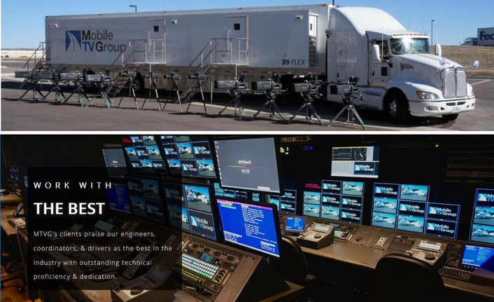 Mobile TV Group upgrades 4K truck with HDR using EVS XT4K server