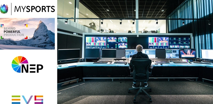 NEP Switzerland selects EVS technology to drive HD & UHD workflow in new broadcast center