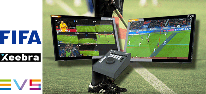 FIFA AWARDS EVS' XEEBRA WITH CERTIFICATION FOR ITS VIRTUAL OFFSIDE LINE