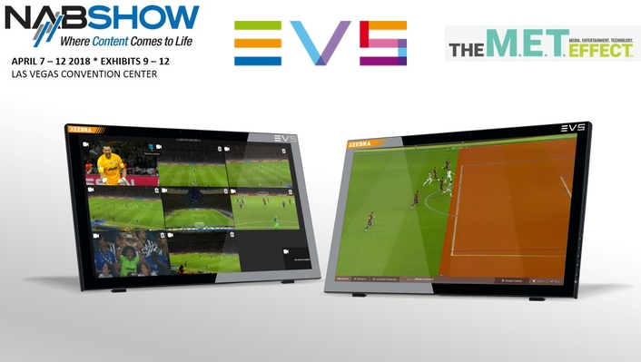 EVS IMPLEMENTS UNIQUE AI-ENABLED OFFSIDE INDICATOR INTO XEEBRA 2.0