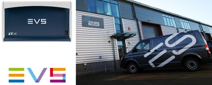 ES Broadcast Hire furthers 4K commitment with EVS servers