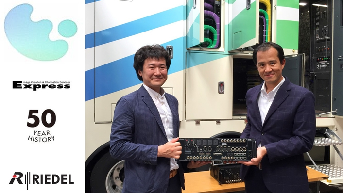 Japan's Express Co, Ltd Builds 4K-Capable OB Van With Riedel Communications' MediorNet Compact