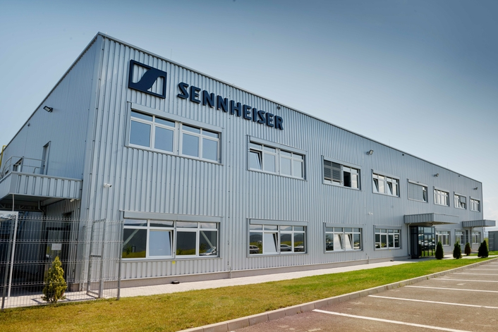 SENNHEISER CELEBRATES OFFICIAL OPENING OF NEW FACTORY IN BRAȘOV, ROMANIA