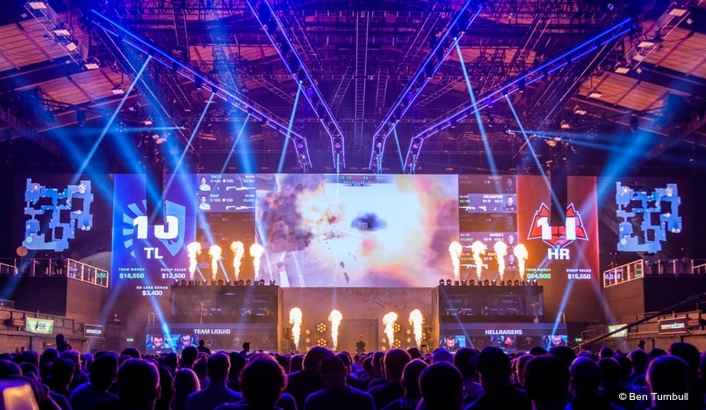 MARTIN AUDIO MLA IS A REAL GAME-CHANGER AT 13TH CS:GO MAJOR