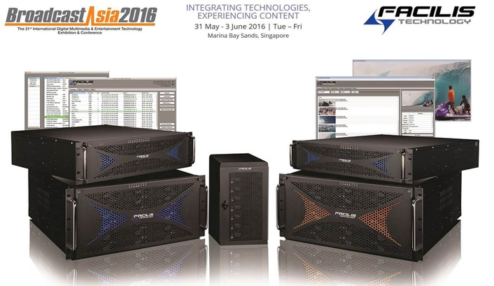 Facilis Shared Storage and Asset Tracking Products at Broadcast Asia 2016