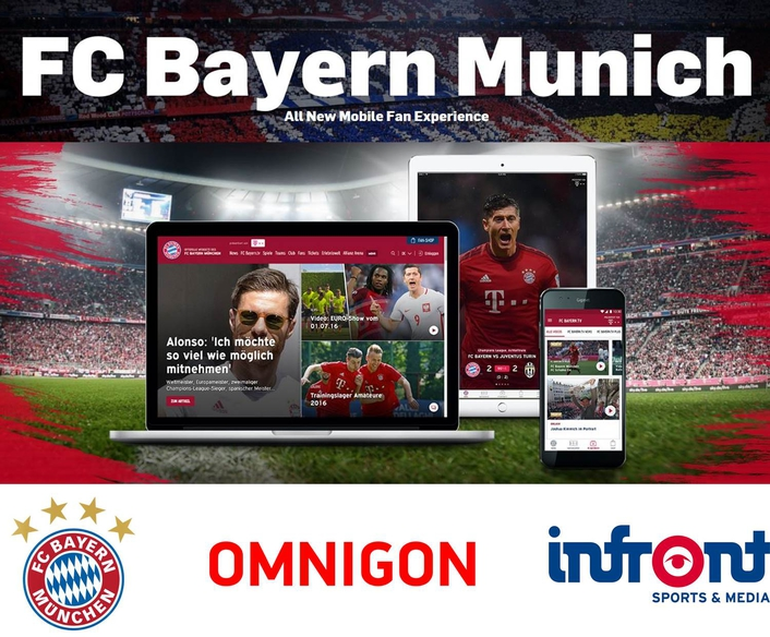 FC Bayern München selects Omnigon to develop new suite of mobile apps