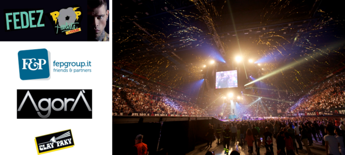 On his tour of arenas and clubs, he proved he is able to hold the stage without concern, even at challenging venues, like the Mediolanum Forum just outside Milan and the PalaLottomatica in Rome