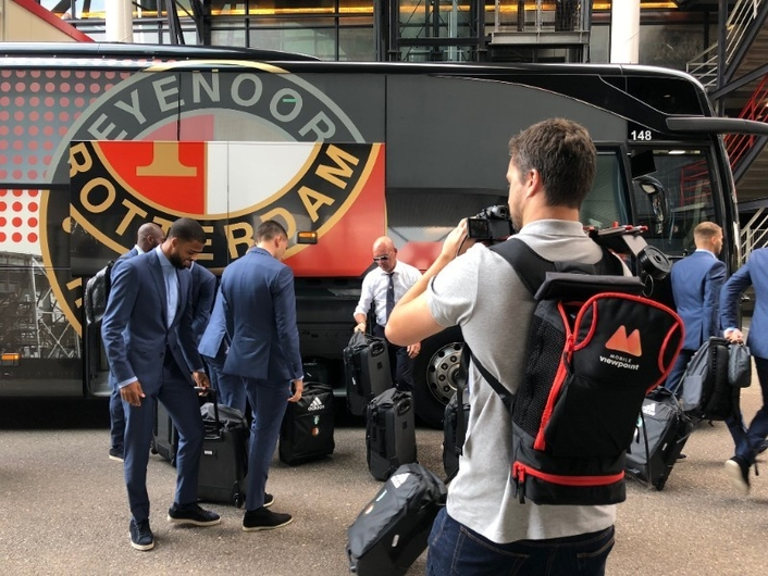 Football Club Feyenoord expands its online reach with Mobile Viewpoint technology
