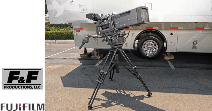 F&F Productions selects 17 FUJINON 4k UHD lenses to outfit company's first 4k mobile unit