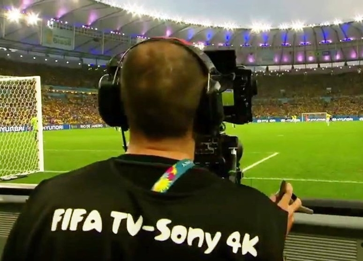 Football's world governing body has announced plans to broadcast the 2018 World Cup in the Ultra HD format